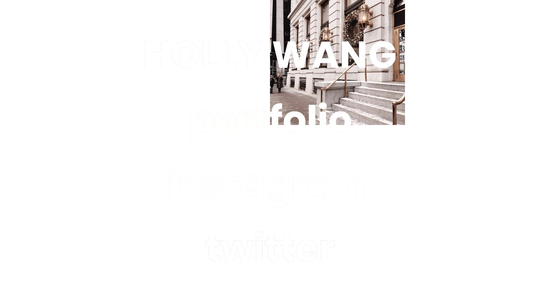 holly wang